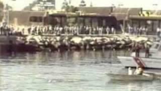 Jack Lalane pulls 70 boats on 70th birthday