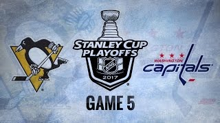 Three-goal 3rd sends Caps past Pens in Game 5, 4-2