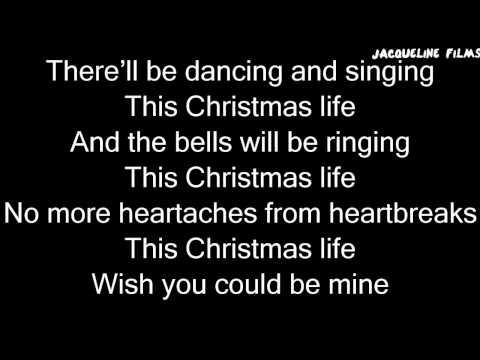 This Christmas Life Lyrics On Screen - Shane Dawson [Official]