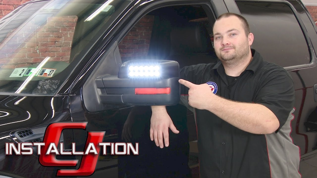 F  Raptor Oracle Lighting Off Road Led Side Mirror Cap Pair   Installation