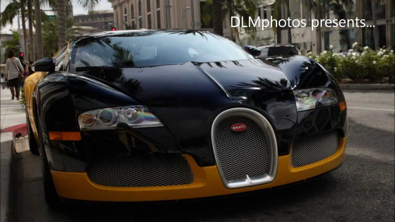 bijan 39 s black yellow bugatti veyron on rodeo drive in. Black Bedroom Furniture Sets. Home Design Ideas