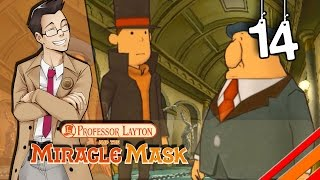 """Professor Layton and the Miracle Mask   """"Montsarton Gallery""""   Part 14"""