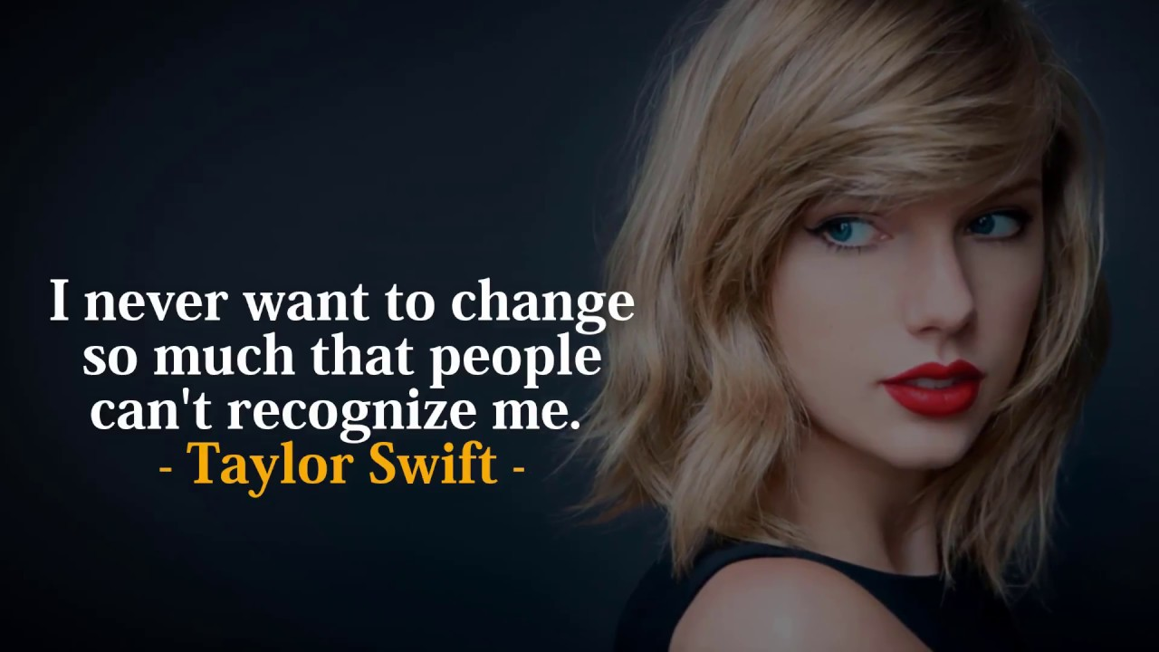 Taylor Swift\'s Best Quotes | Inspiring Taylor Swift Quotes to Live By
