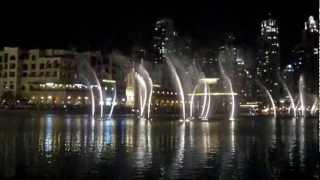 Dubai fountain 2013 (chinese song)