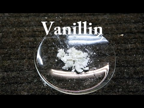 How to isolate Vanillin from Artificial Vanilla Extract