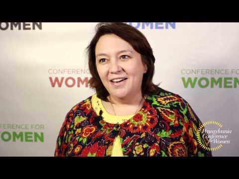 Catherine Bonuccelli -- Pennsylvania Conference for Women 2013