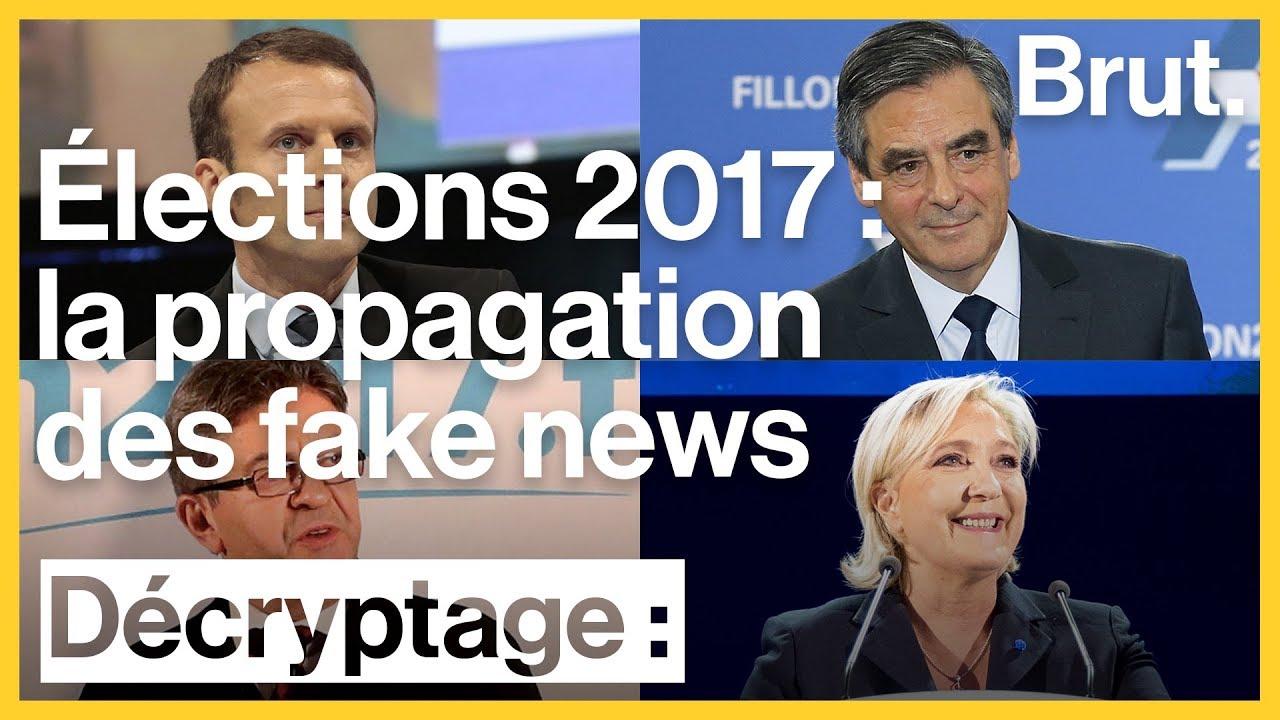 Les fake news pendant la campagne présidentielle française