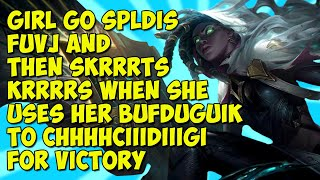Girl Go SPLDISFUVJ And Then SkRRRTSKRRRRS When She Uses Her BUFDUGUIK To CHHHHCIIIDIIIGI For Victory