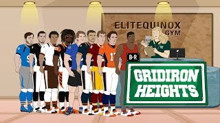 Eliminated Players Hit the Gym on January 2nd   Gridiron Heights S2E18