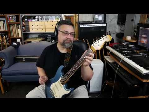 2004 Fender CIJ '65 Strat Reissue ST-65B in Aged Lake Placid Blue