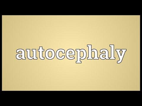 Header of autocephaly
