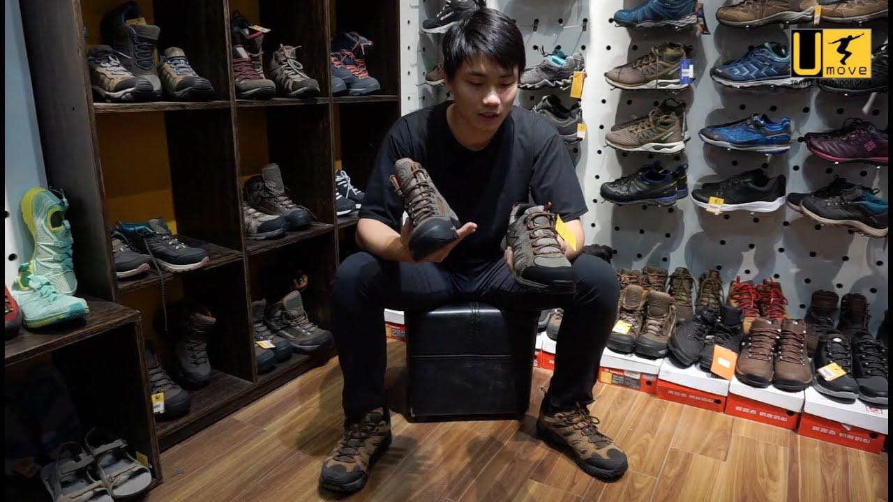 [Review] Hướng dẫn lựa chọn giày phù hợp khi đi leo núi, trekking