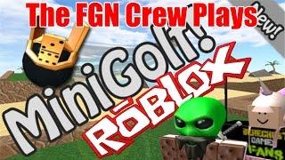 Die FGN Crew spielt: ROBLOX - Mini Golf (PC)