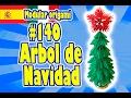 3D MODULAR ORIGAMI #140 Arbol de Navidad
