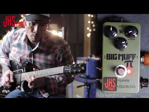 "JHS Pedals - EHX Green Russian ""Moscow Mod"" - Guitar Pedal Demo | Big Muff Fuzz"