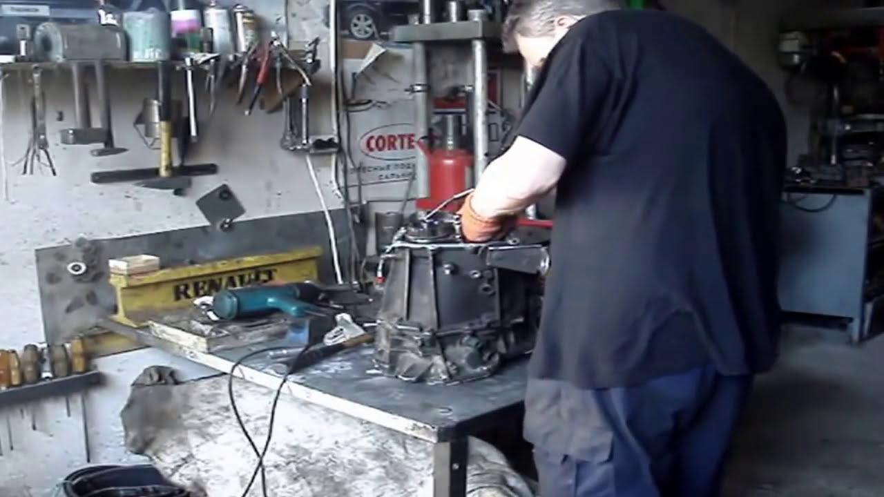 ремонт коробки передач renault symbol