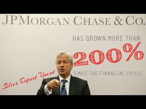 JP Morgan Has Grown Over 200% Larger Since The Financial Crisis! Too Big To Fail!