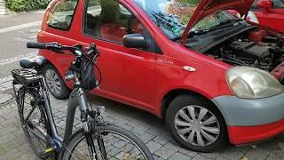 Toyota Yaris моя машина из Германии лучший автомобиль тойота
