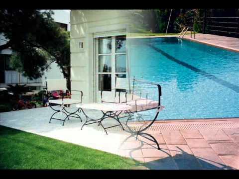 Σφυρήλατα έπιπλα κήπου τραπέζι Καρέκλα πολυθρόνα