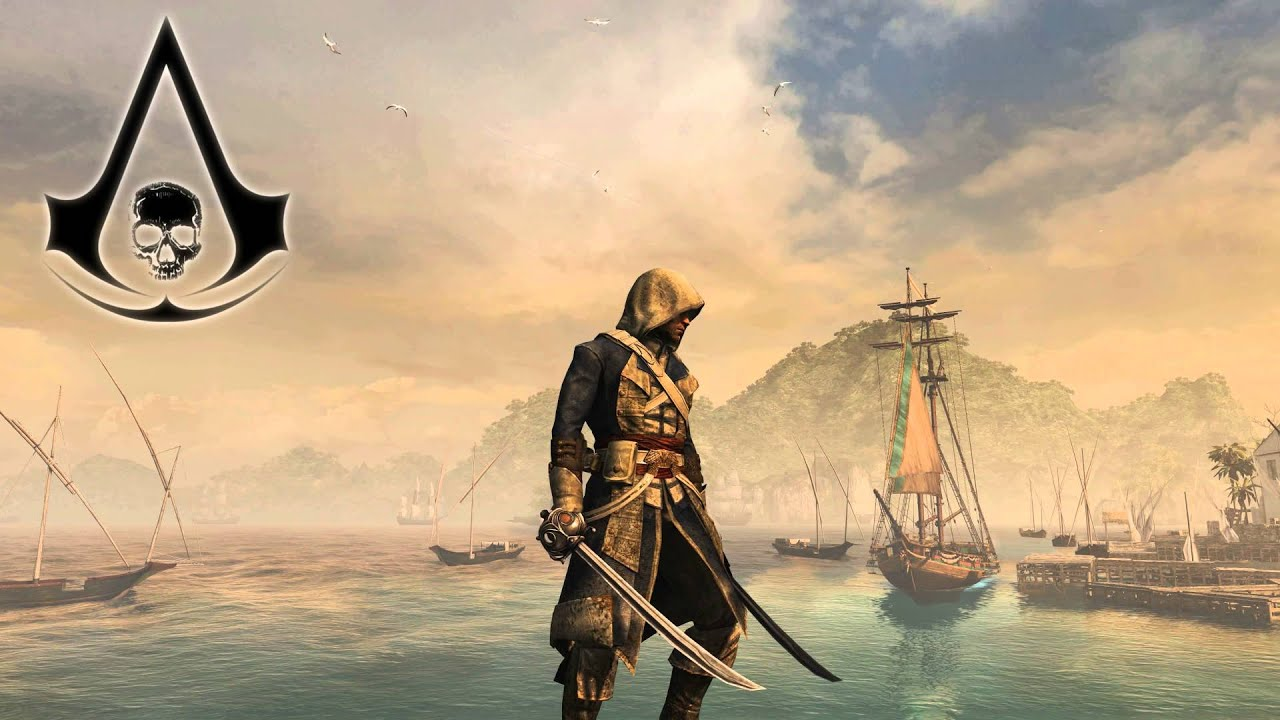4k Ultra Hd Live Wallpaper Assassins Creed Iv Black Flag Youtube