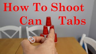 How To Shoot Can Tabs With Your Fingers Tutorial. Can Tab Hack
