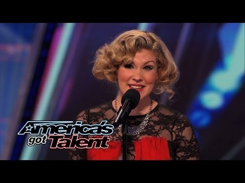 """Emily West: Singer-Songwriter Performs Cool Country """"Sea of Love"""" Cover - America's Got Talent 2014"""