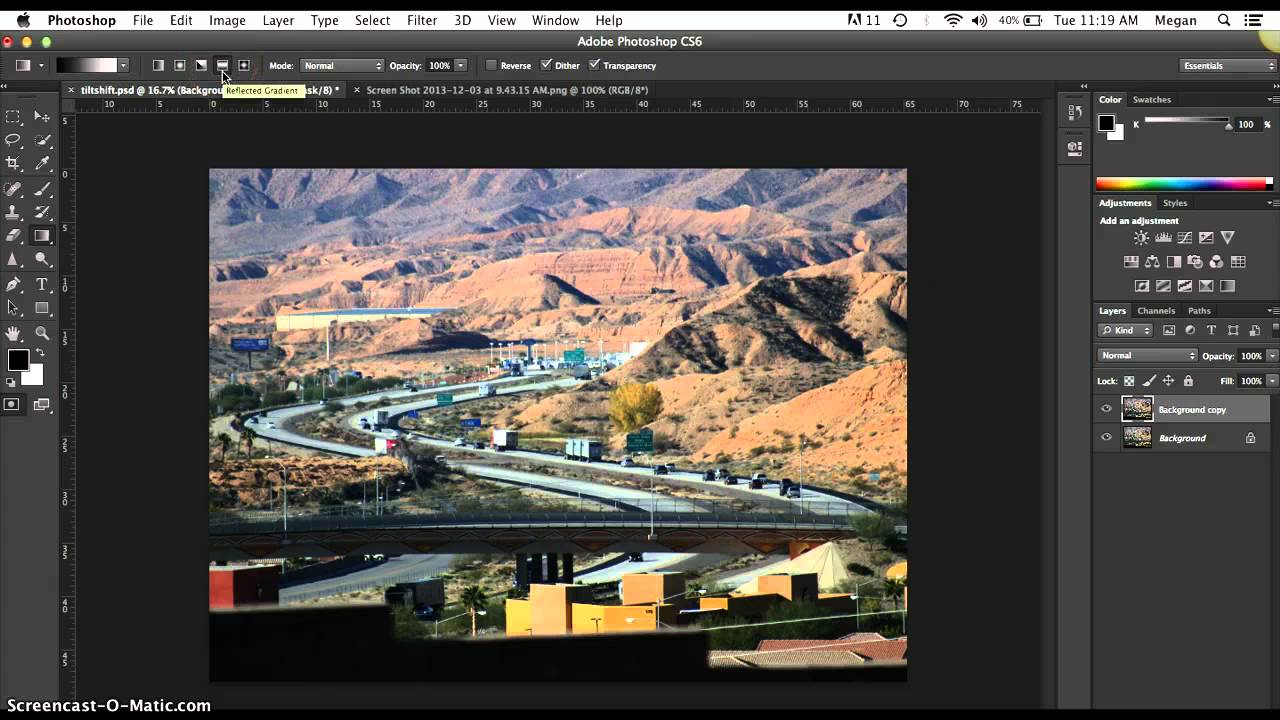 How to create your own tilt-shift photograph in photoshop.