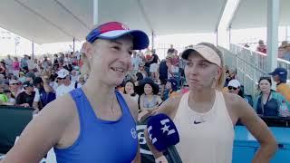 «Мы приехали за титулом в Австралию». Веснина и Макарова хотят победить на Australian Open
