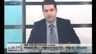 MARCEL CIOLACU LA C AM PUS PCT PE I   27 NOV