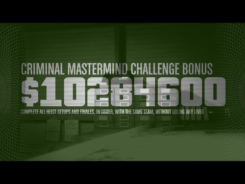 Criminal Mastermind Challenge COMPLETED - Pacific Standard H