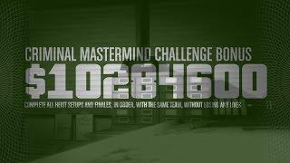 Criminal Mastermind Challenge COMPLETED - Pacific Standard HEIST FINALE w/ Kuruma - GTA Online