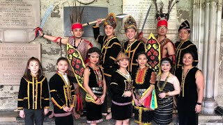 Traditional Borneo Dances by Kulintangan Group Sabahan Abroad UK for Commonwealth Family Day 2019