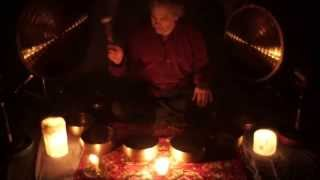 Sleepytime quick 4 min Candlelight Chakra Meditation w/Stereo Hits
