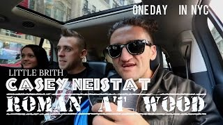 Roman Atwood  & Casey  Neistat IN NYC
