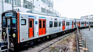 【4K/甲種輸送】JR九州(九州旅客鉄道)YC-1系2両×3本 川崎重工・兵庫 2020.5.21