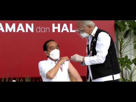 Jokowi terima vaksin Covid-19
