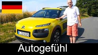 2014 Citroen C4 Cactus Testbericht review DEUTSCH - Autogefühl