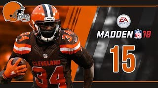 Madden NFL 18 Owner Mode (Cleveland Browns) #15 Week 15 vs. Ravens