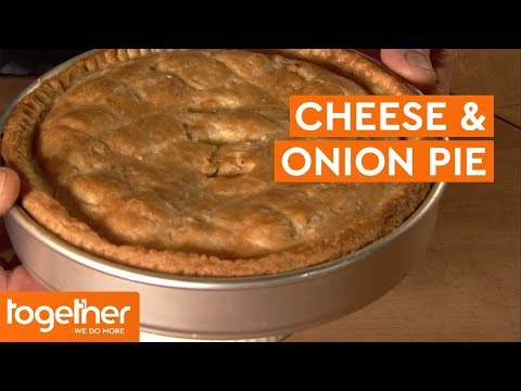 How To Make Cheese And Onion Pie