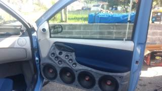 Fiat Punto mk2 al raduno Audio-Tuning di Roma (Gara ufficiale Iasca Db Drag) - Boccolucci Hi Fi Car