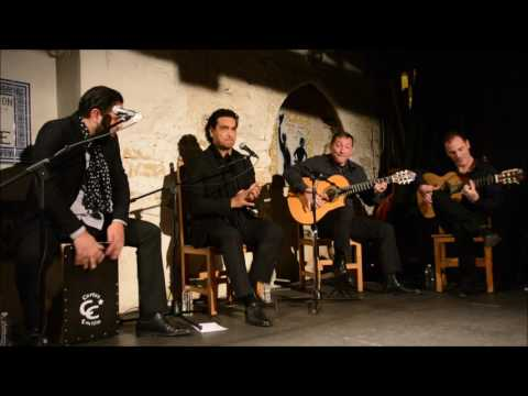 Hadrien Moglia en la peña de flamenco en France