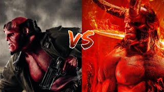 Ron Perlman's Hellboy vs David Harbour's Hellboy 2