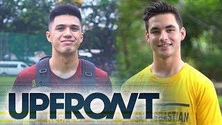 NCAA UPFRONT: SSC-R Stag Warren Cabban Jr. and UPHSD Altas Anton Tamayo reveal What's in Their Bags