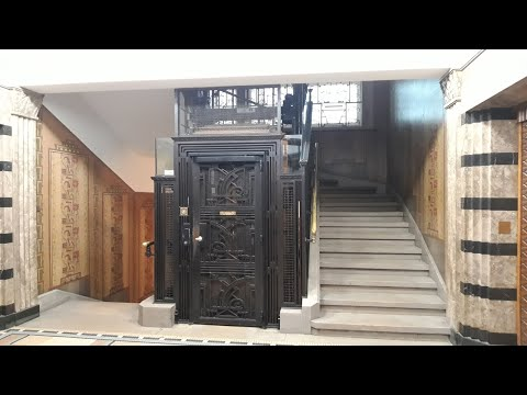 Really Beautiful Old Modernized Schindler Elevator @ Lausanne, Switzerland