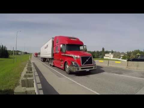 truck convoy video