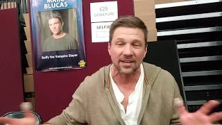 Interviewing Marc Blucas who played Riley Finn in Buffy the Vampire Slayer