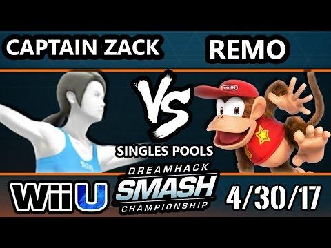 DHA 2017 SSB4 - Captain Zack (Bayonetta, WFT) Vs. Remo (Diddy Kong) Smash 4 - Smash Wii U