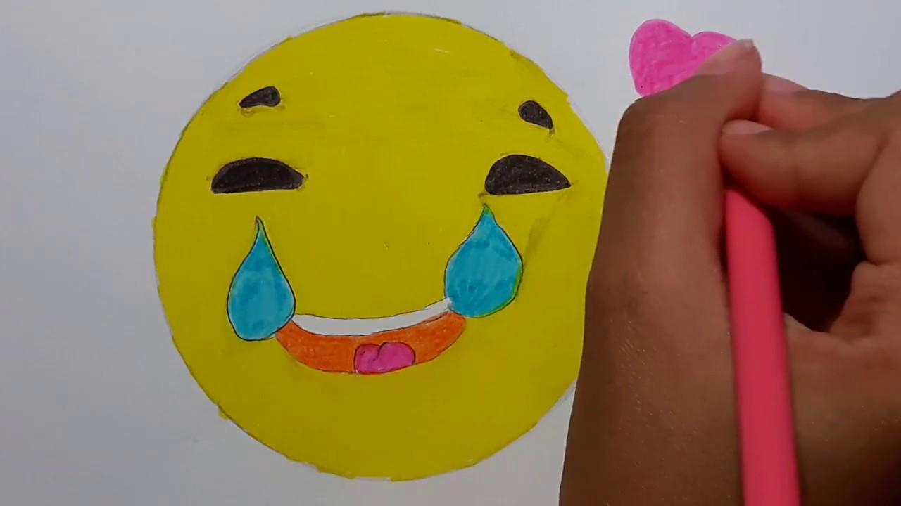 Comment Dessiner Un Smiley Qui Pleure De Rire Youtube