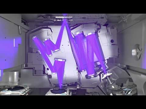The Full EUV Optical Light Path - Inside The TWINSCAN NXE:3400 EUV Lithography Machine | ASML