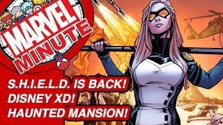 S.H.I.E.L.D. is back! Disney XD! Haunted Mansion! - Marvel Minute 2016